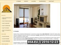 Miniaturka domeny www.polanrolety.pl