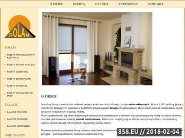 Zrzut strony Rolety materiałowe Łódź