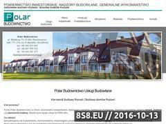 Miniaturka domeny www.polarbudownictwo.pl