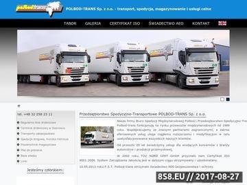 Zrzut strony POLBOD-TRANS przewóz