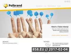Miniaturka domeny polbrand.eu