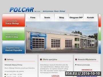 Zrzut strony POLCAR - części do samochodów