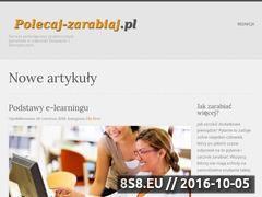 Miniaturka domeny www.polecaj-zarabiaj.pl