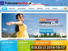 Miniaturka domeny polecanenoclegi.pl