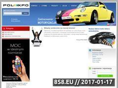 Miniaturka domeny polexpo.com.pl