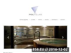 Miniaturka domeny www.poliglas.pl