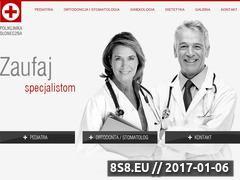 Miniaturka domeny poliklinikasloneczna.pl