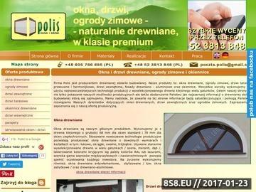 Zrzut strony Okna drewniane , drzwi zewnętrzne , drzwi , ogrody zimowe ; Bydgoszcz