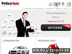 Miniaturka domeny polisarium.pl