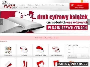 Zrzut strony Drukarnia Bydgoszcz