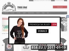 Miniaturka domeny www.polishlabel.pl