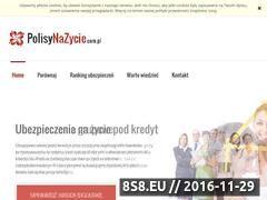Miniaturka domeny www.polisynazycie.com.pl