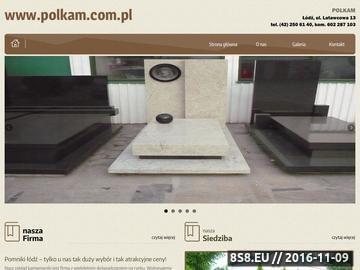 Zrzut strony Pomniki Łódź