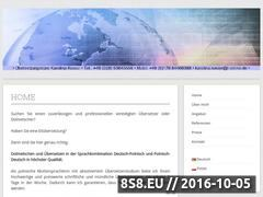Miniaturka domeny polnisch-uebersetzer.com