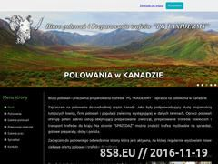 Miniaturka domeny polowaniawkanadzie.pl