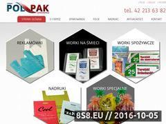 Miniaturka domeny polpak-opakowania.pl