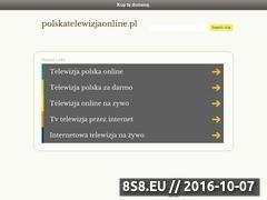 Miniaturka domeny polskatelewizjaonline.pl