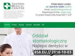 Miniaturka Polska przychodnia Tooting w Londynie (www.polski-lekarz.co.uk)