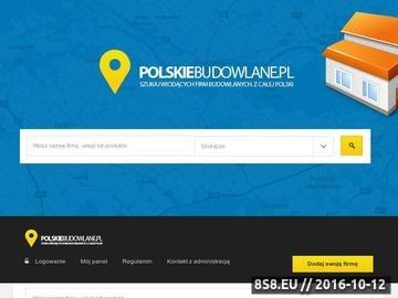 Zrzut strony Polskie Budowlane