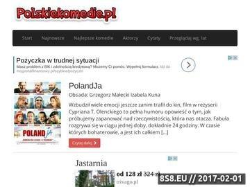 Zrzut strony Polskie komedie
