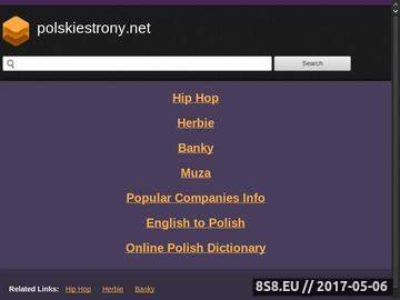 Zrzut strony Polskiestrony.net - katalog stron
