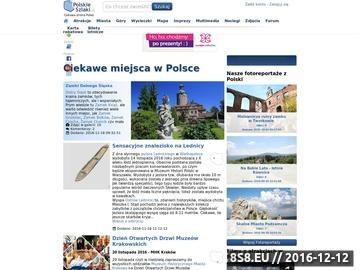 Zrzut strony Polskieszlaki.pl