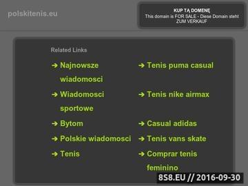 Zrzut strony Polski Tenis - Strona o tenisie ziemnym