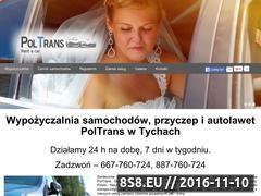 Miniaturka domeny poltrans24h.com.pl