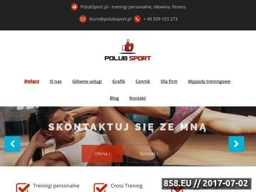 Zrzut strony Treningi personalne Warszawa