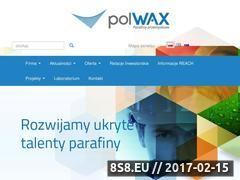 Miniaturka domeny www.polwax.pl