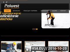 Miniaturka domeny www.polwest.pl