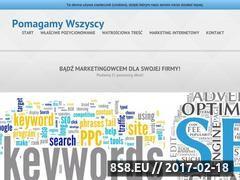Miniaturka domeny www.pomagamy-wszyscy.pl