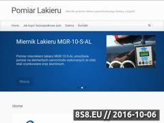 Miniaturka domeny pomiarlakieru.pl