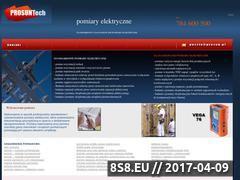 Miniaturka domeny www.pomiary-elektryczne.slask.pl