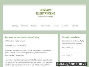 Zrzut strony Badania elektryczne Lublin