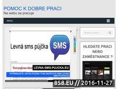 Miniaturka domeny www.pomoc-dobreprace.eu