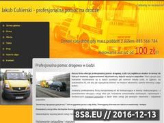 Miniaturka domeny www.pomoc-drogowa-lodz.pl