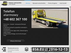 Miniaturka domeny www.pomoc-drogowa-torun.pl