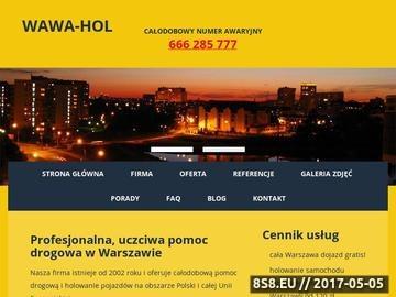 Zrzut strony Warsztat samochodowy i pomoc drogowa Warszawa