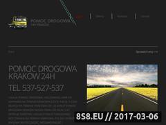 Miniaturka domeny pomocdrogowa-krakow.com.pl