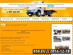Miniaturka domeny www.pomocdrogowa-serwis.pl
