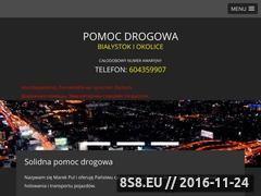 Miniaturka domeny www.pomocdrogowa.bialystok.pl