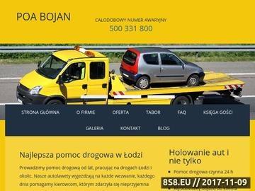 Zrzut strony Pomoc drogowa