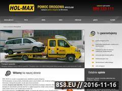 Miniaturka domeny www.pomocdrogowa.i-wroclaw.pl