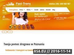 Miniaturka domeny www.pomocdrogowa.w.poznaniu.pl
