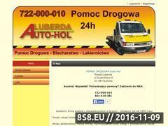 Miniaturka domeny www.pomocdrogowa24h.com
