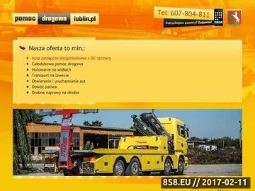 Zrzut strony Pomoc drogowa Lublin - Speed-Bus Dariusz Mazur