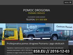 Miniaturka domeny www.pomocdrogowapoznan.pl