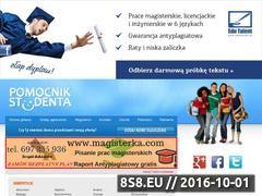 Miniaturka domeny www.pomocnik-studenta.pl