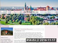Miniaturka domeny www.pompyciepla-24.pl